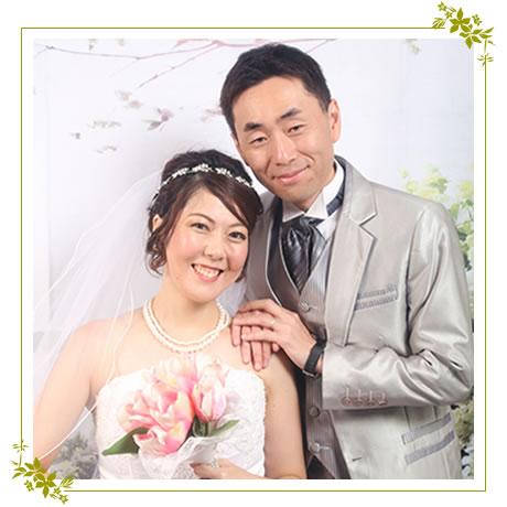 ハワイの写真館で本格結婚写真前撮り