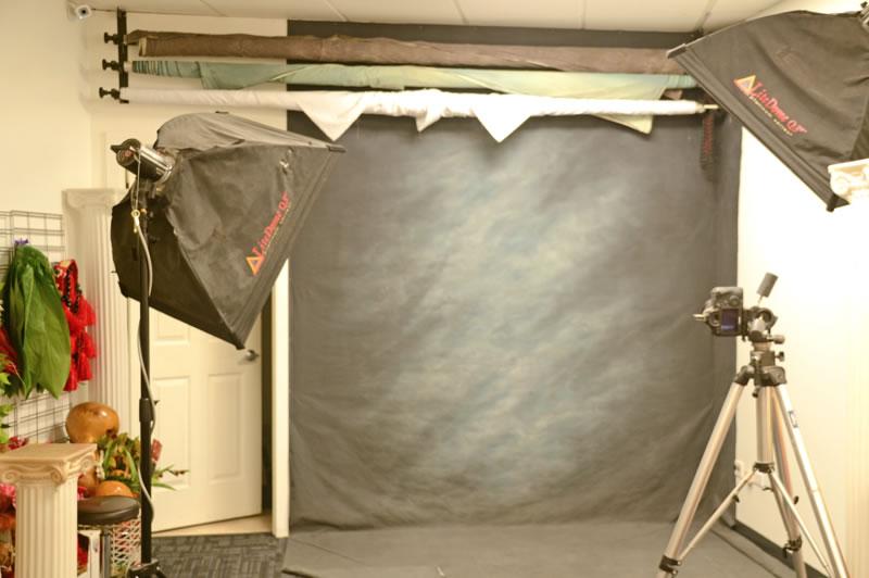 ハワイにあるフェイシズスタジオの撮影スタジオ