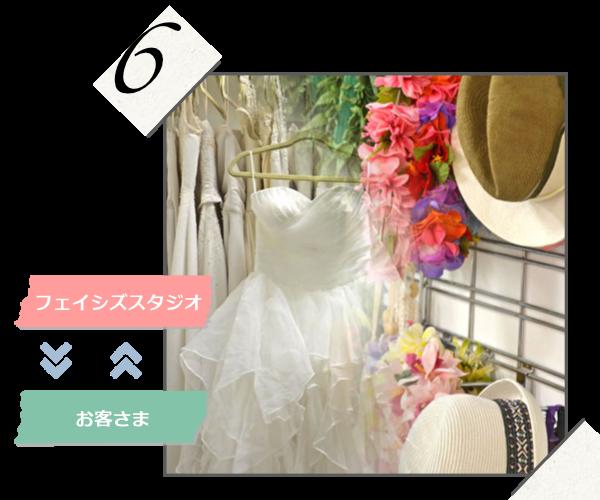 ハワイアンスタジオ撮影のドレスやアクセサリー選び